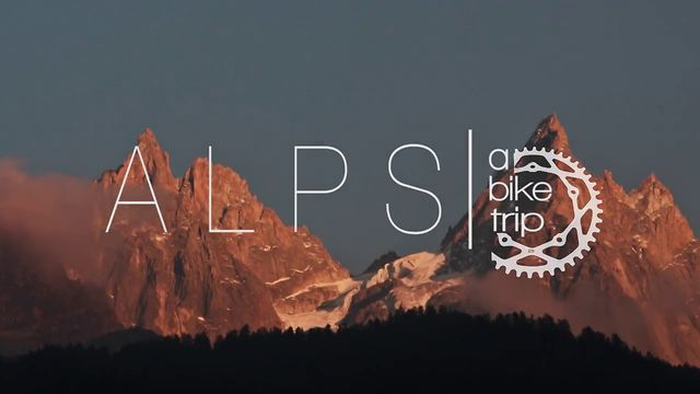 Alps a bike trip