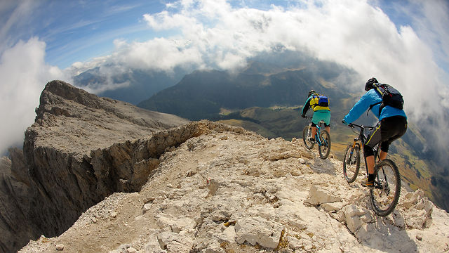 A Rocky Ride in the Dolomites
