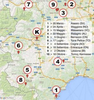 Calendario Coppa Piemonte MTB 2016
