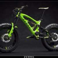 Zebra FFB: una Fat Bike mostruosa