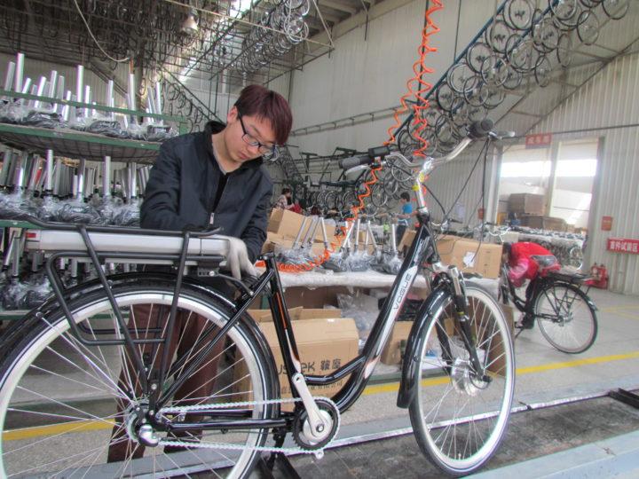 e-bike cinesi