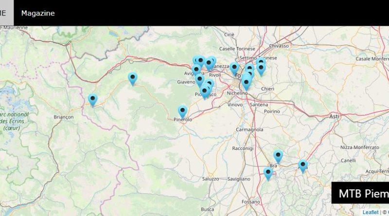 sezione itinerari di MTBpiemonte