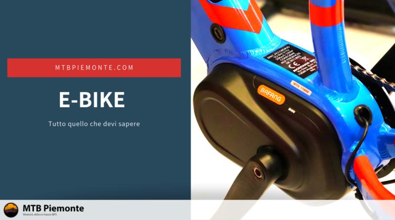 e-Bike tutto quello che devi sapere