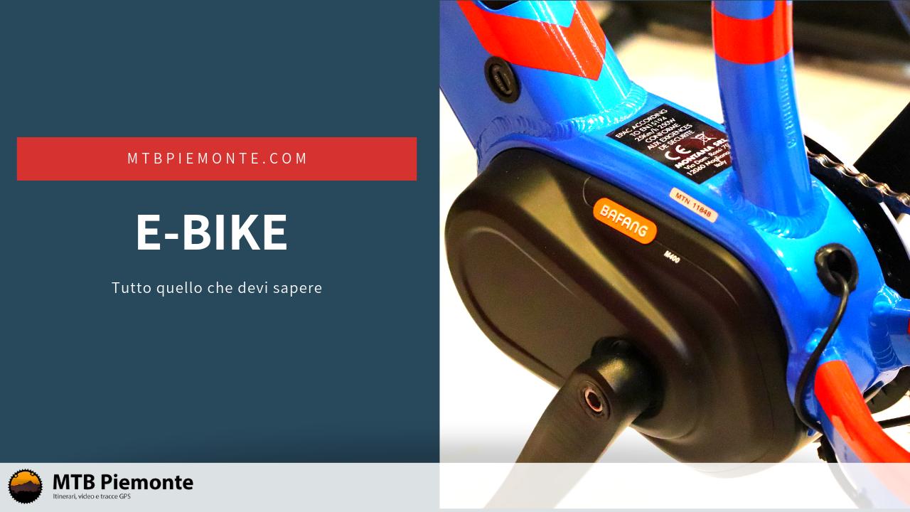 E-bike: Tutto quello che devi sapere