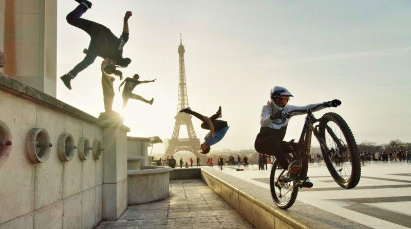 Video Bike Vs Parkour