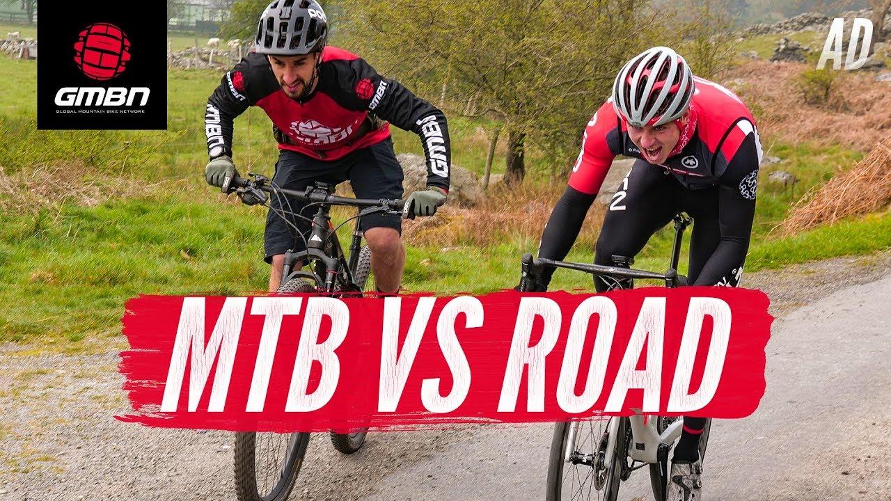 E' più veloce una MTB o una bici da corsa?